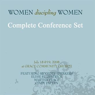 Picture of Entire 2008 Women Discipling Women Conference Set - All Recorded Sessions as MP3s