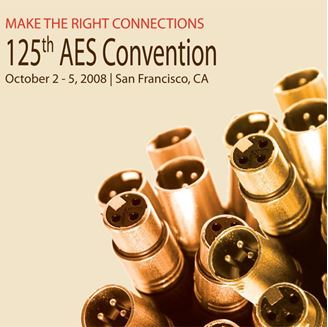 Picture of Entire 2008 AES Conference Set - All Recorded Sessions as MP3s
