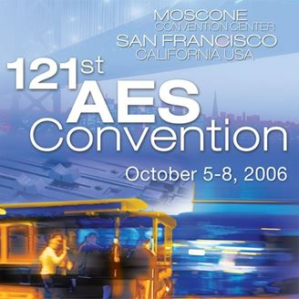Picture of Entire 2006 AES Conference Set - All Recorded Sessions as MP3s