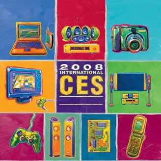 Picture of Entire 2008 CES International Set - All Recorded Sessions as MP3s
